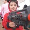 Contra la aprobación de la ley de video juegos y juguetes bélicos