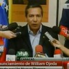 Palabras de William Ojeda para Venezuela