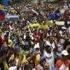 Venezuela a la calle, a protestar de forma pacifica.