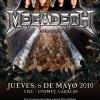 El Regreso de Megadeth a Venezuela:entre el Juego Final y el Rust in Peace