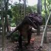 Dinosaurios en la feria