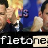 Votaciones en panfletonegro Capriles Vs Chávez