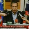 Palabras de William Ojeda para Venezuela