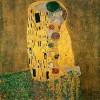 El beso de Klimt.