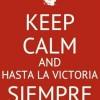 ¡Hasta la victoria siempre!