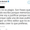 Proyecto Aplagia Berlutti: reacción